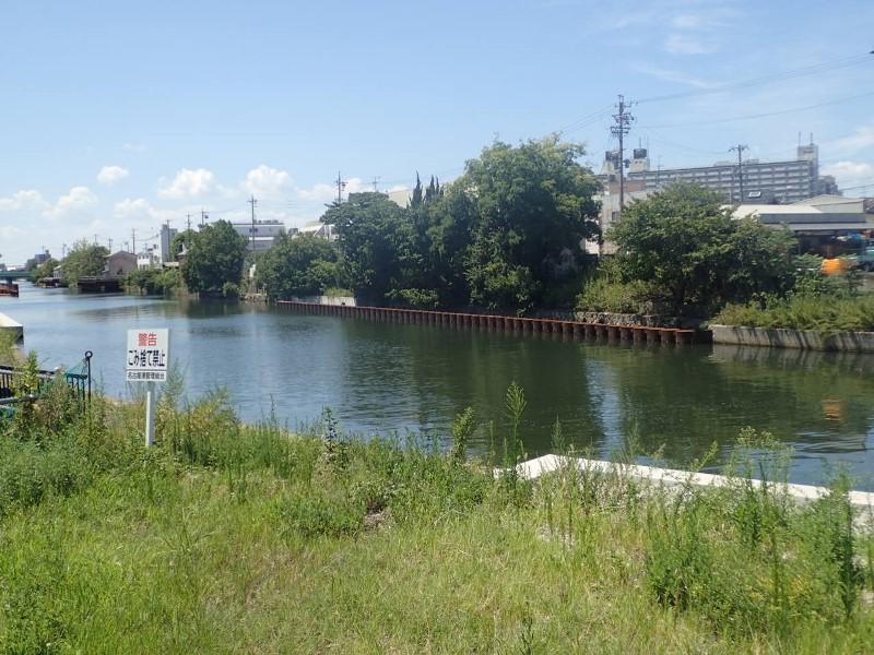 中川運河護岸改良工