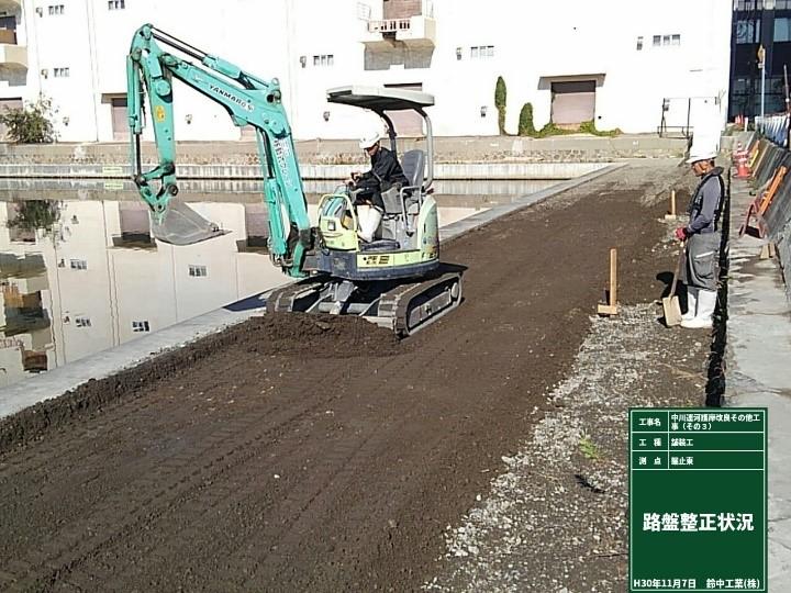 ILB舗装路盤工