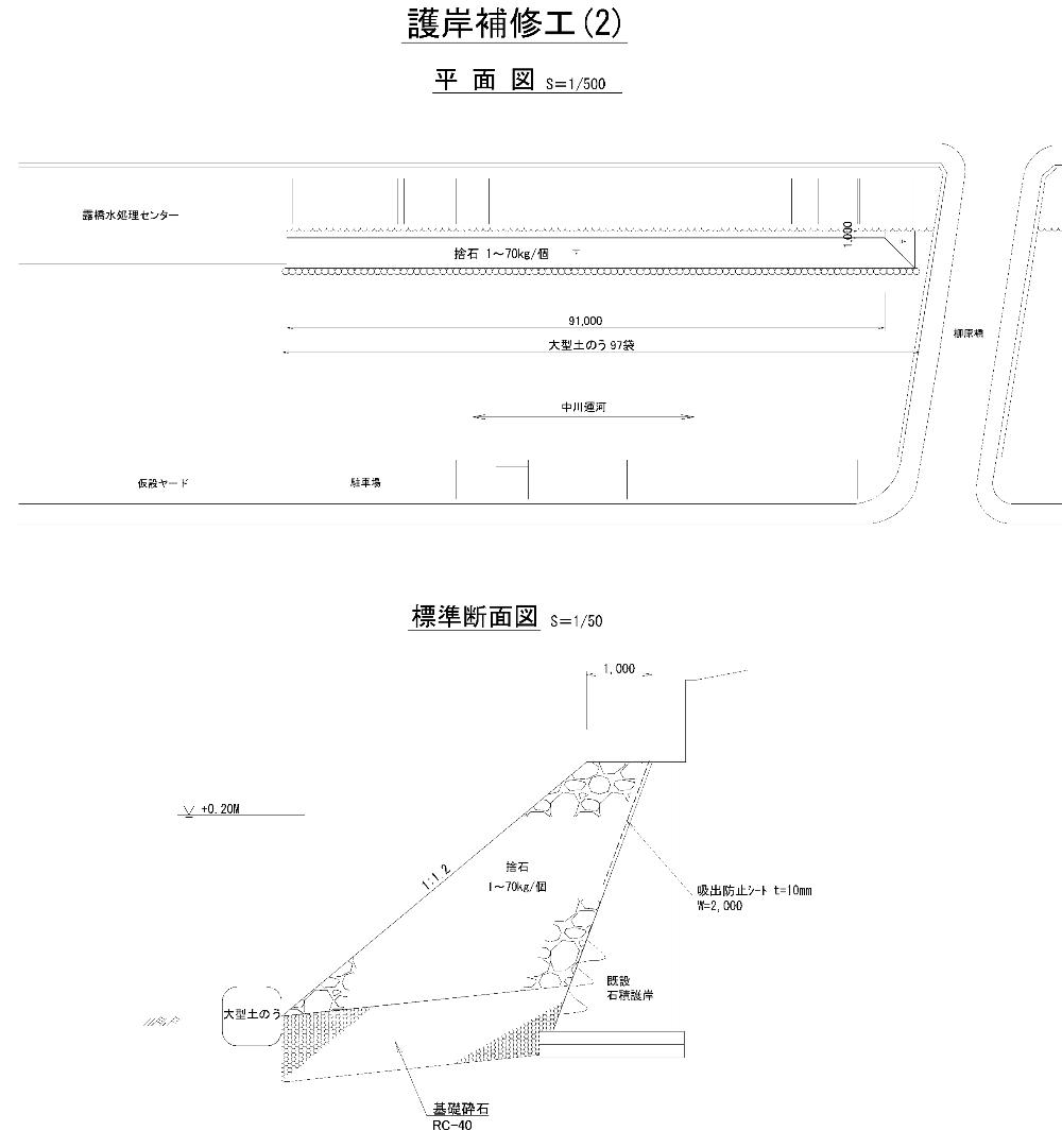施工位置図